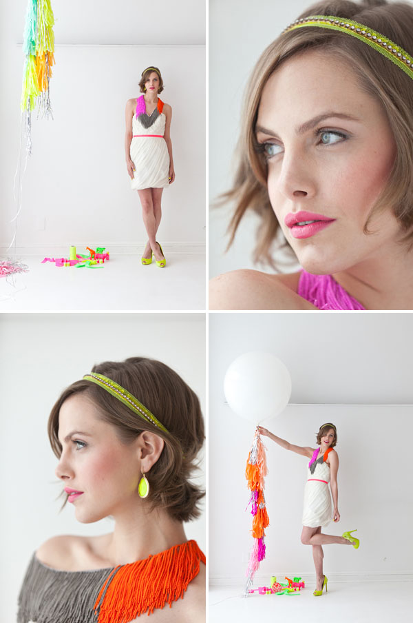 Neon wedding inspiration: Fashion 10