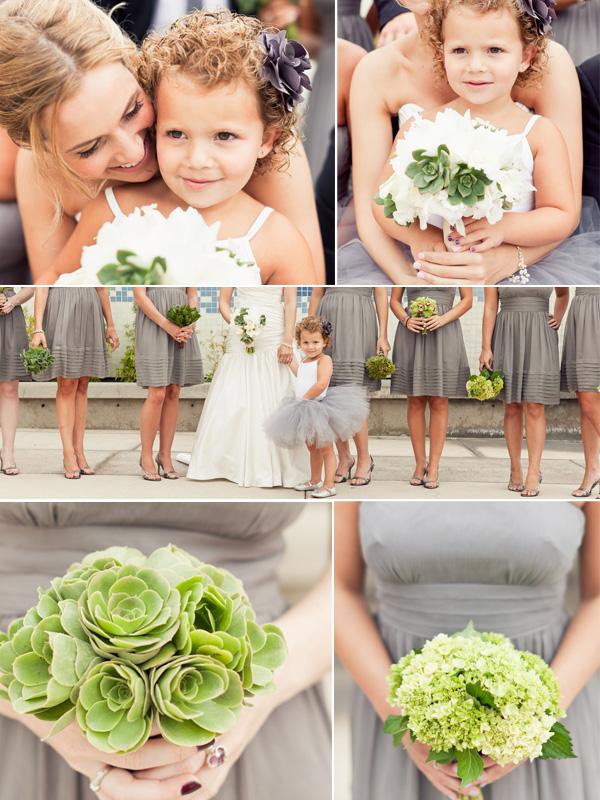 Real wedding: Erin + Morgan - Brooklyn Bride - Modern Wedding Blog