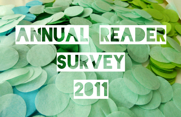 Annual reader survey & giveaway from Paper+Cup 1