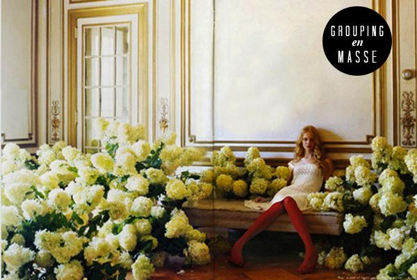 Decorating ideas: grouping en masse - Brooklyn Bride - Modern Wedding ...
