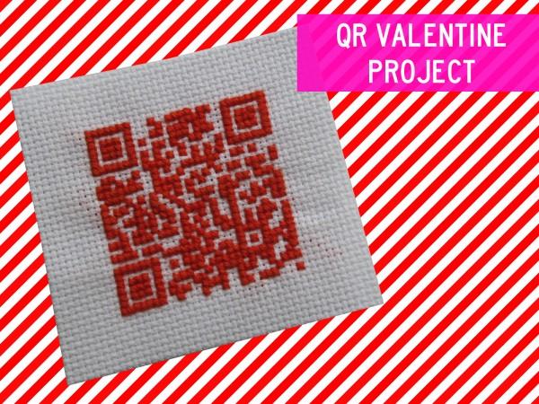 QR Code Valentine DIY 1