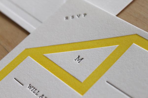 New invitations from Moontree Letterpress 1