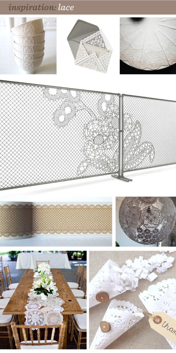 lace inspiration details