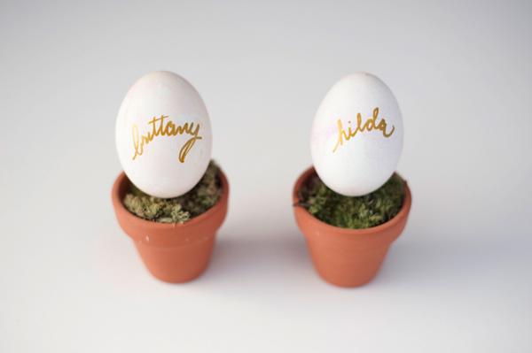 DIY Watercolor Easter egg name settings 2