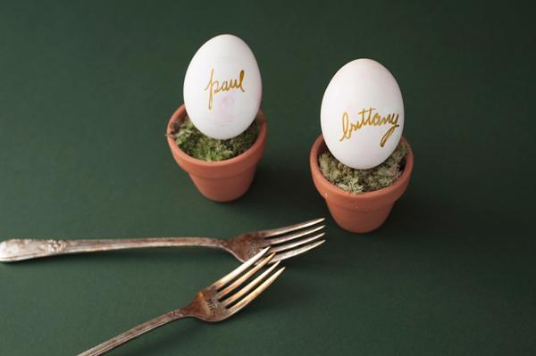 DIY Watercolor Easter egg name settings 1