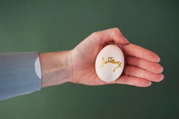 DIY Watercolor Easter egg name settings 5
