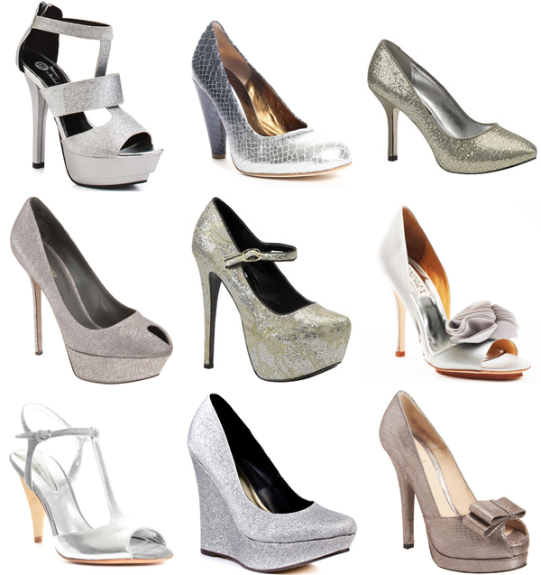 Silver Wedding Shoes 39 Inspirational
