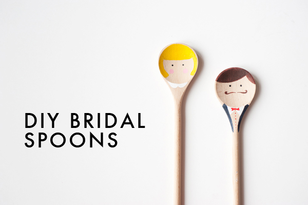 DIY: Bridal spoon favors 11