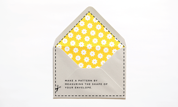 Printables: DIY envelope liners 2