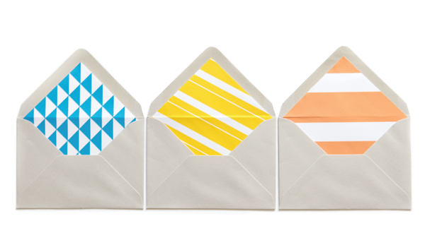 Printables: DIY envelope liners 3