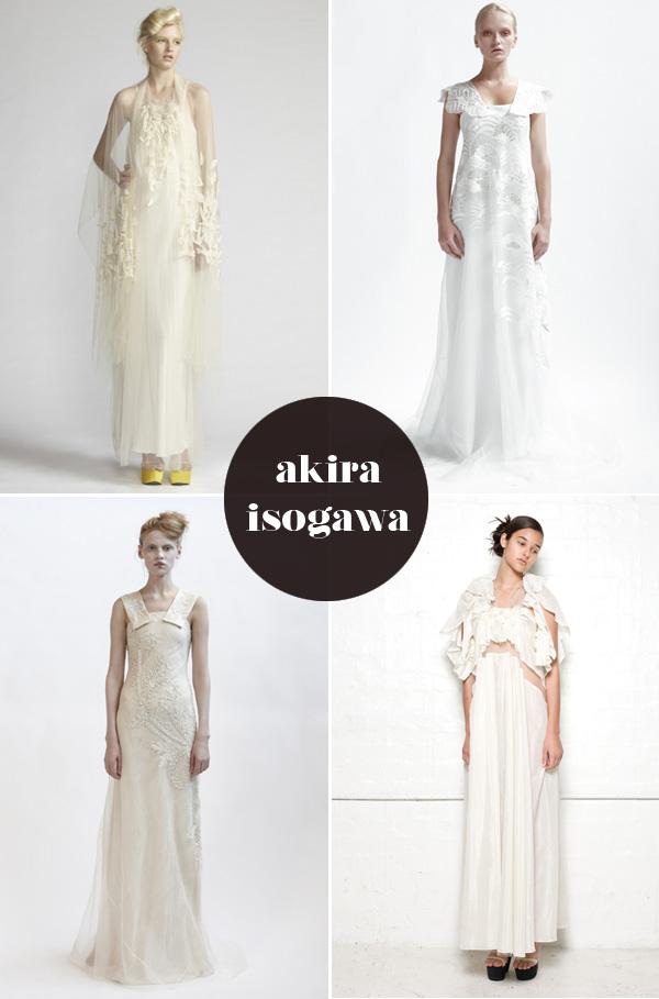 Akira Isogawa wedding dresses - Brooklyn Bride - Modern