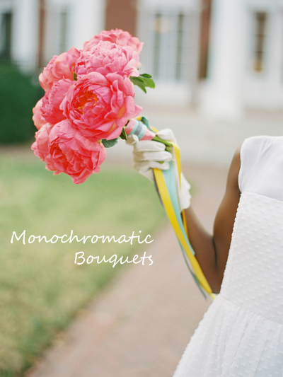 Guest post: Bouquet inspiration from The Bride's Cafe