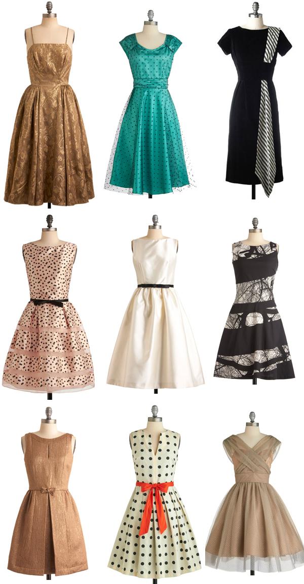 dress modern vintage images