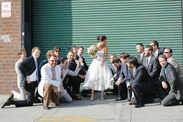 Real Bell House wedding: Sandrine + Lewis 2