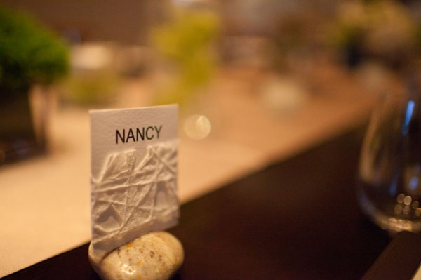 faceted escort card