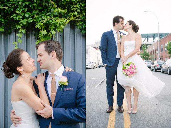 Real Bell House wedding: Sandrine + Lewis 1