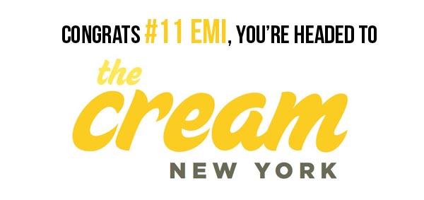 The Cream winner 1