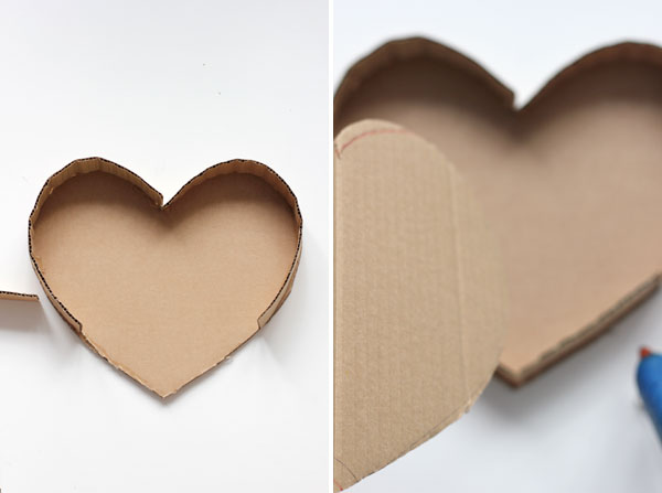 DIY: How to make a post-it heart pinata 5
