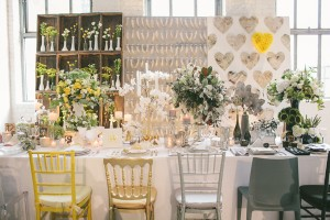 eclectic centerpieces by hatch creative