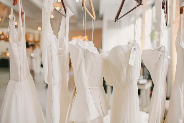 The cream nyc recap part 1 brooklyn bride modern for Custom made wedding dresses nyc