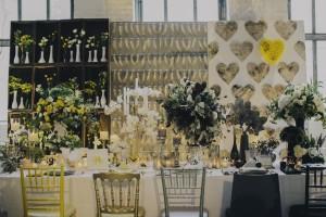 opulent table setting