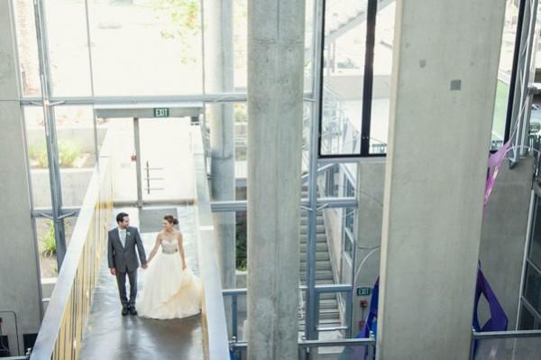 Modern museum wedding inspiration 2