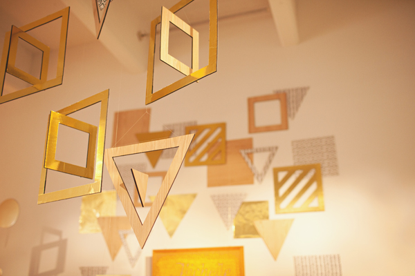 geometric wall hangings