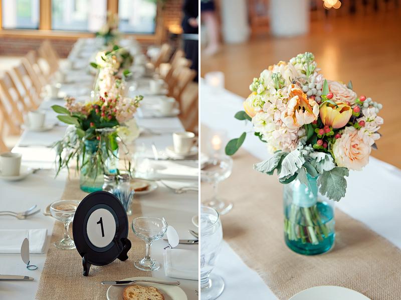 Real wedding: Meredith + Aaron - Brooklyn Bride - Modern Wedding Blog