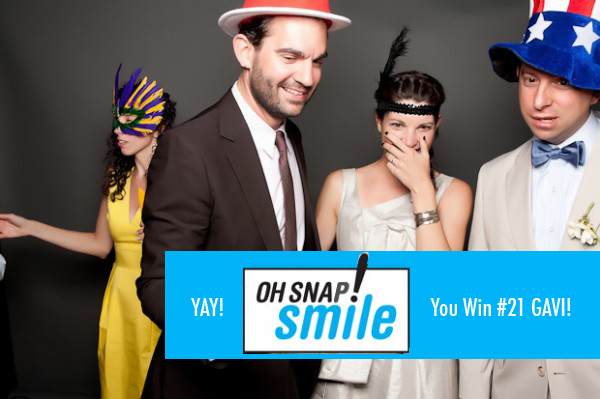 Oh Snap! Smile winner 1