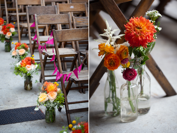 brooklyn winery reception flowers