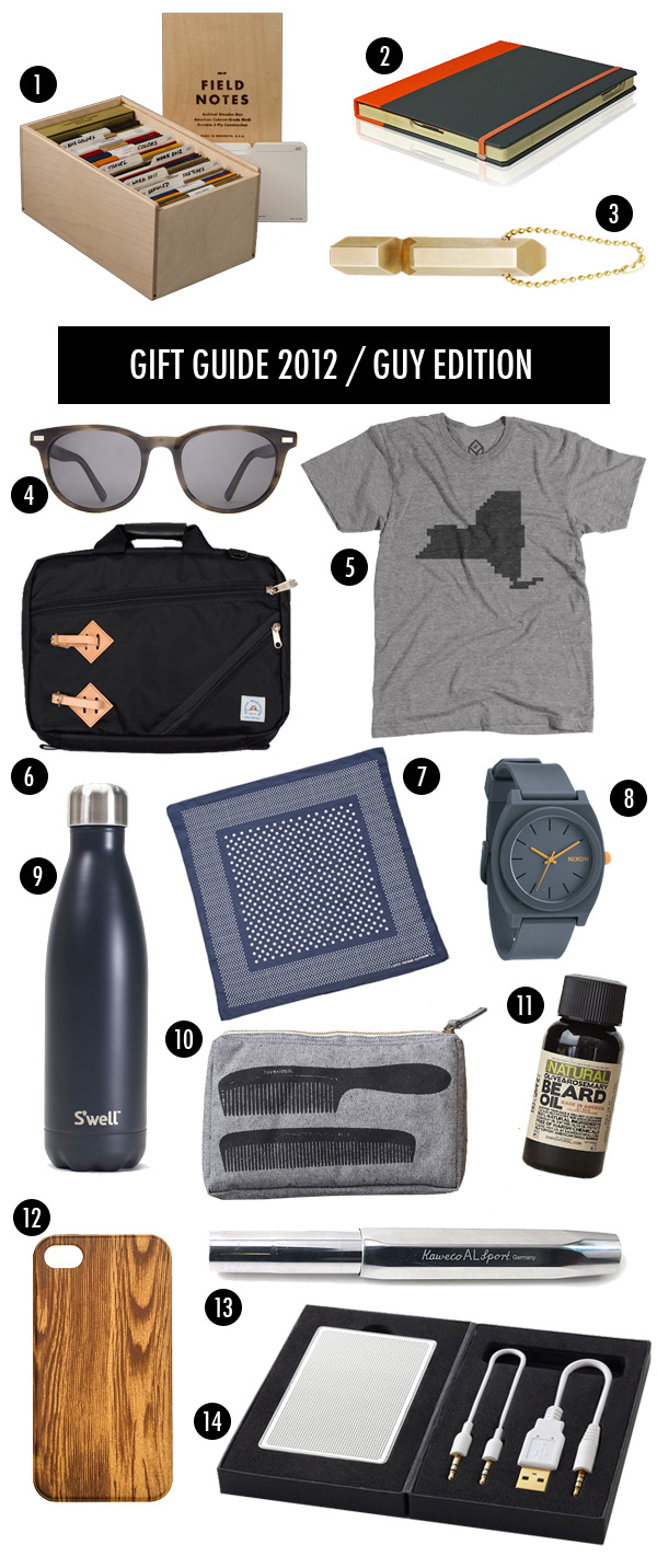brooklyn bride holiday gift guide for the guys 2012