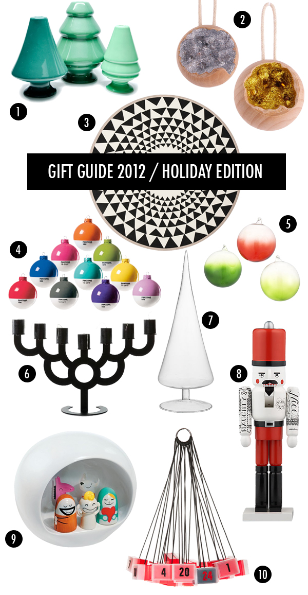 Brooklyn Bride modern holiday giftguide 2012