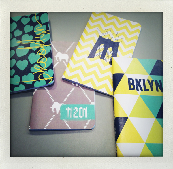 Brooklyn notebooks from Dabney Lee