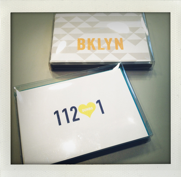Brooklyn stationery from Dabney Lee