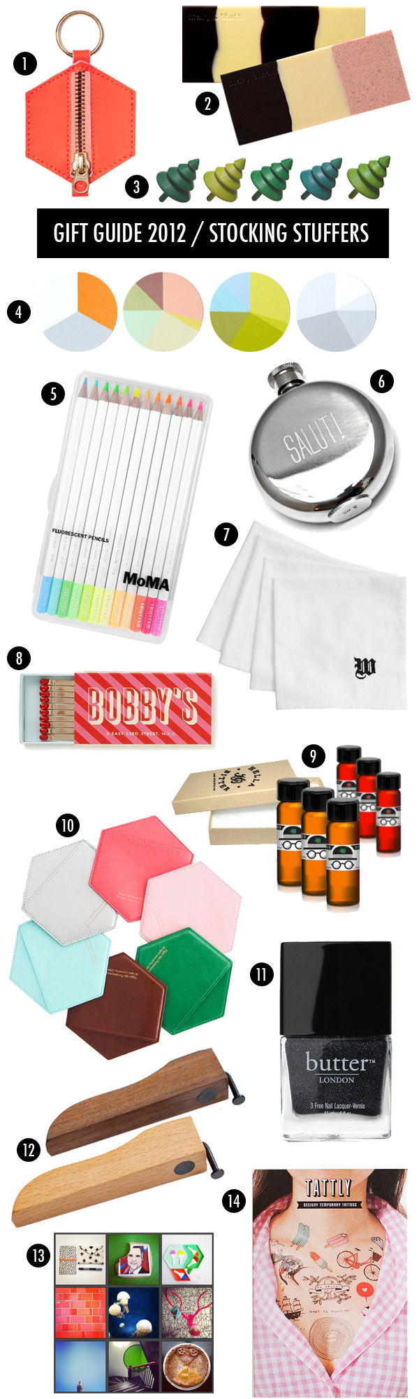 brooklyn bride holiday stocking stuffer giftguide 2012