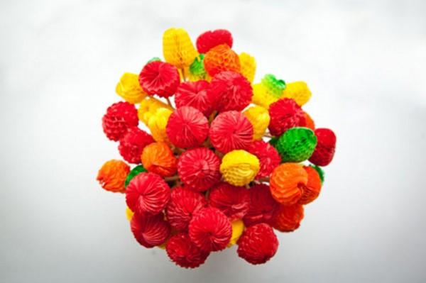 paper fruit toothpicks