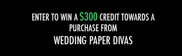 Wedding Paper Divas & giveaway 1