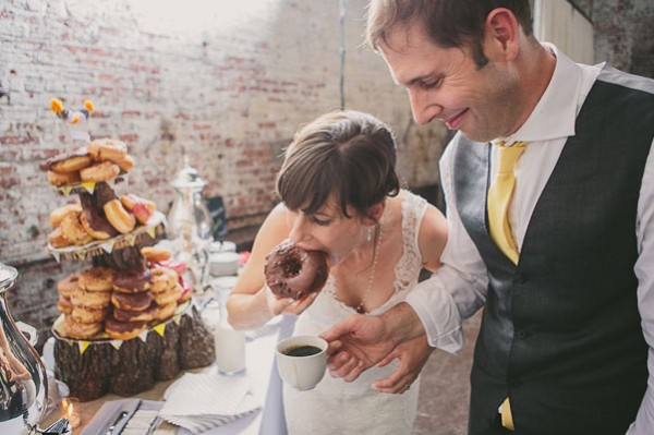 donut instead of wedding cake