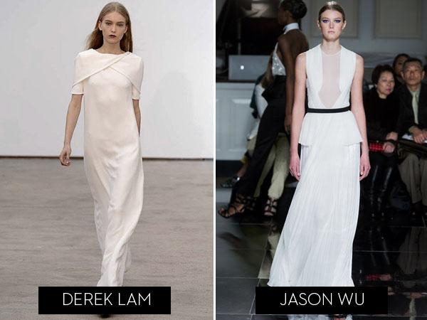Fashion Week Wedding Dress Inspiration Brooklyn Bride Modern Jason Wu Dresses