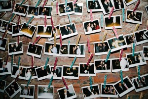 instax photos of guests