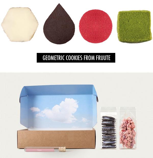 fruute geometric cookies