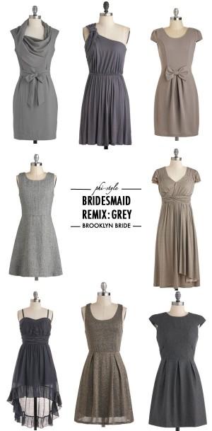 greybridesmaid