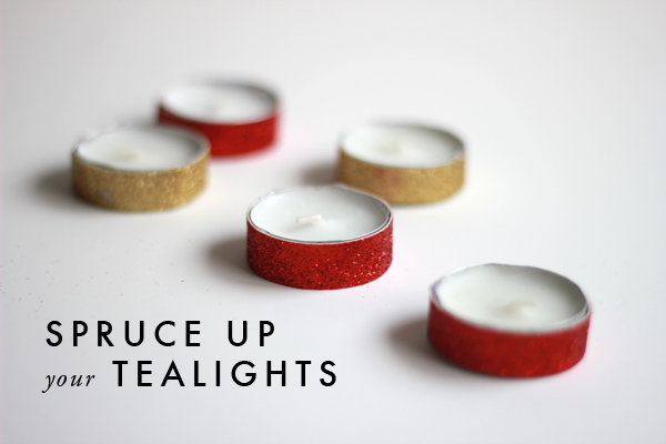 DIY: How to spruce up simple tea lights 11