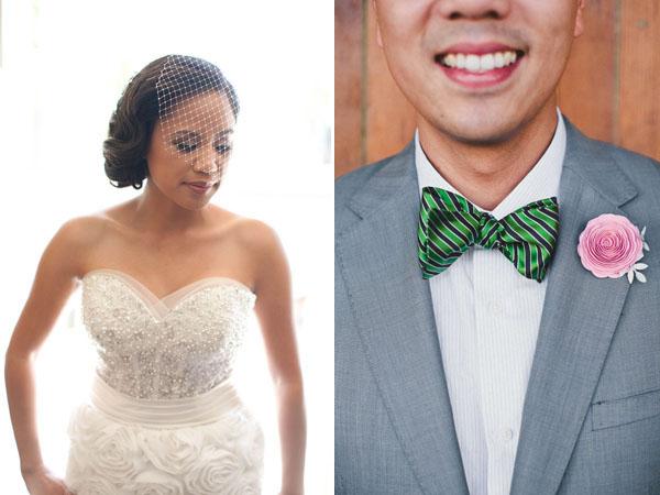 bride & groom details