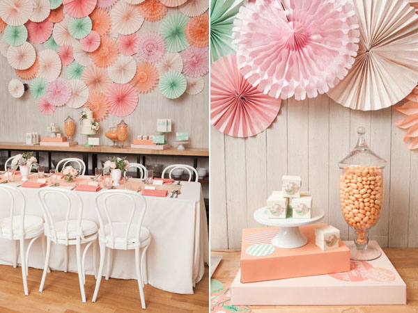 pastel tablescape and favors
