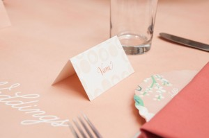 escort card from minted