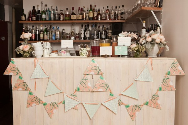 pastel bunting from minted