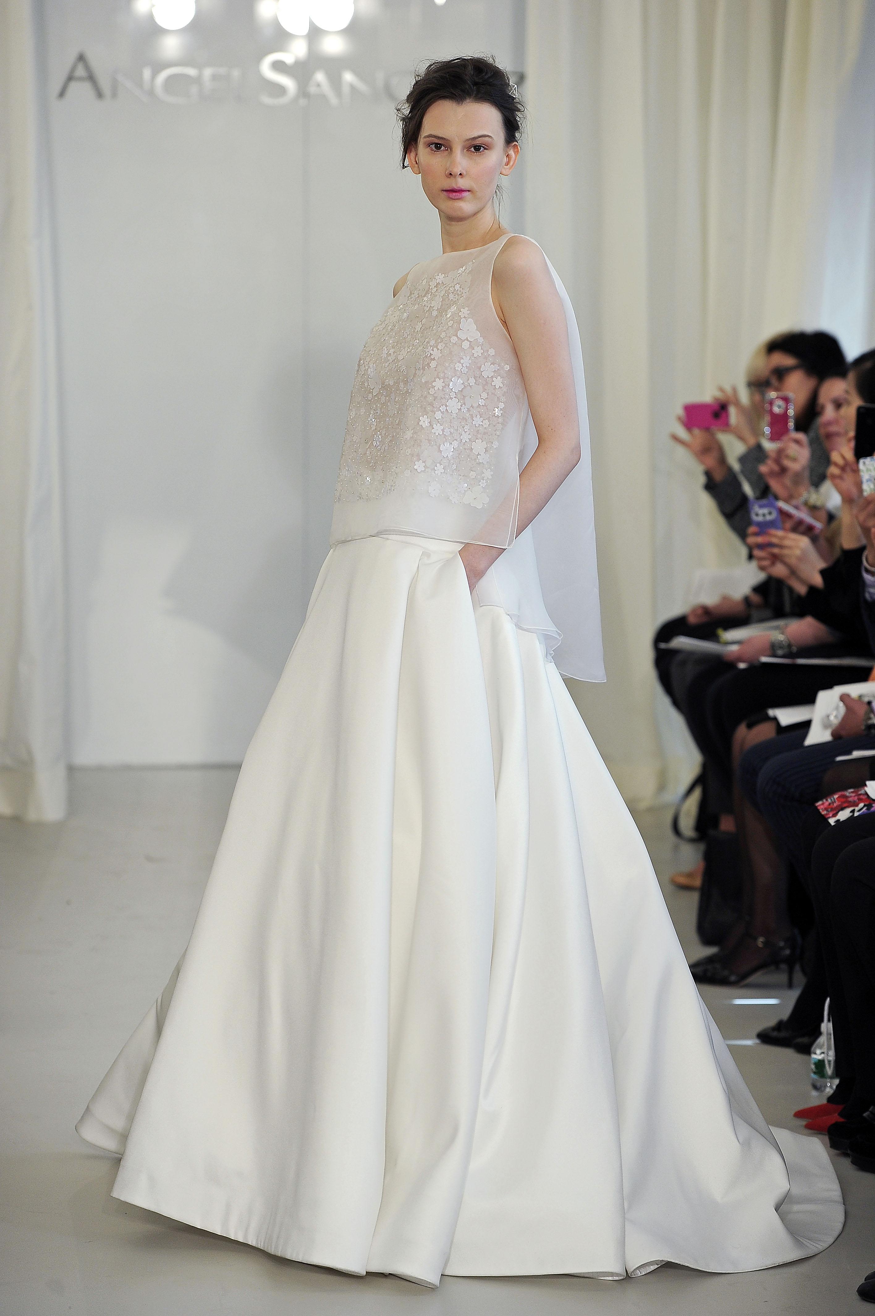 Fashion Forward Wedding Dresses 88 Popular angel sanchez