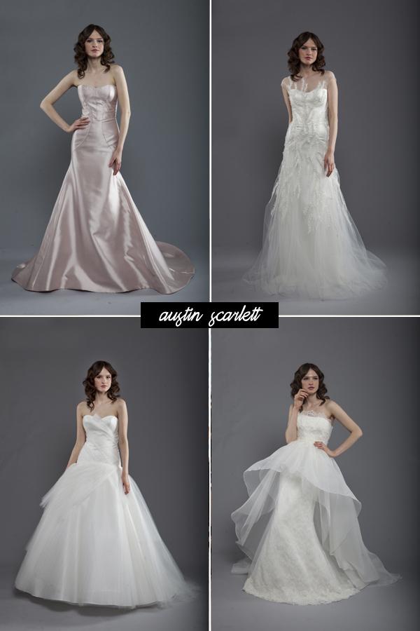 Bridal market austin scarlett brooklyn bride modern for Last season wedding dresses