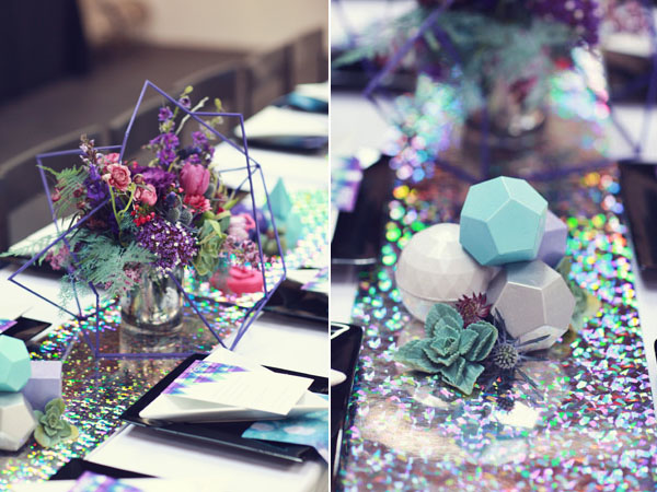 galaxy inspired wedding shoot